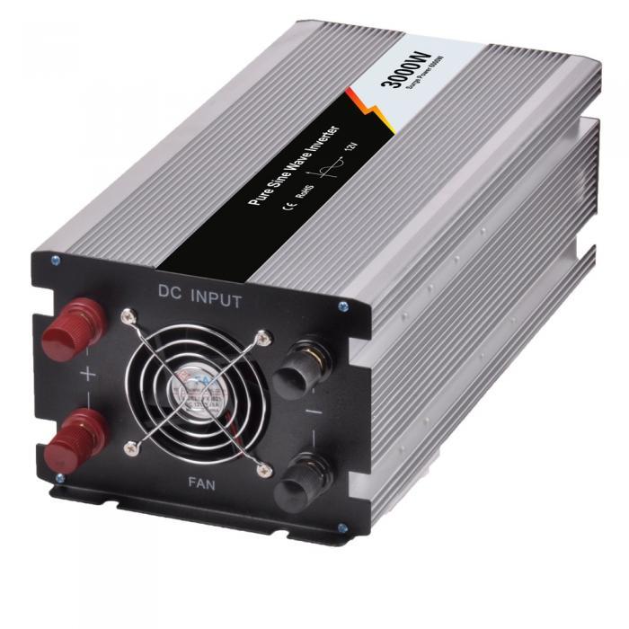 Inverter Poweracu Pur Sinus 3000W 12V JYP3000/12-B-big