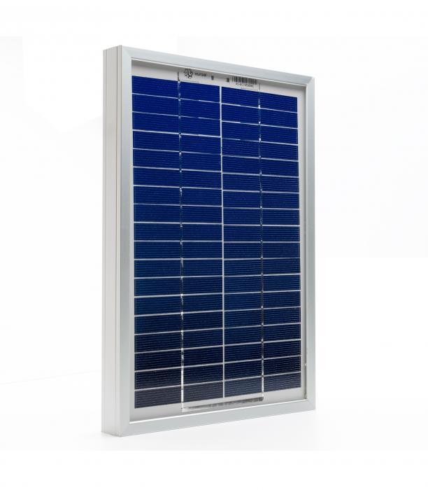 Photovoltaic Panel C-Si Off-grid SOLARPOWER 5W-12V XUNZEL with cable 2+2M SOLZTK5-big