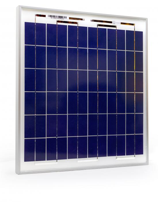 Photovoltaic Panel C-Si Off-grid SOLARPOWER 15W-12V XUNZEL with cable 2+2M SOLZTK15-big