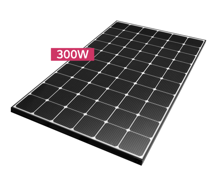 Monocrystalline Solar Panel LG NeON2 Black LG300N1C-G4.AVA - 300 Wp-big