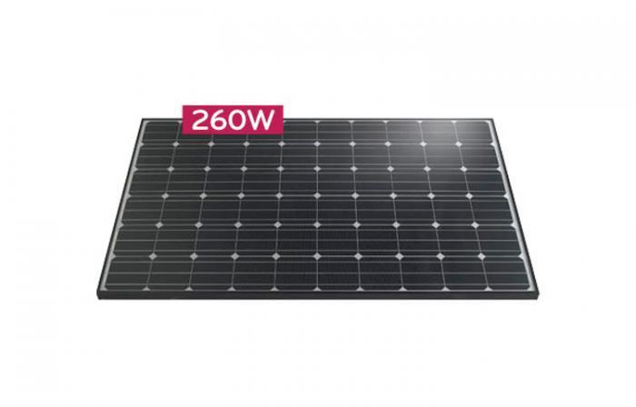 Monocrystalline Solar Panel LG260S1C-A3 - 260 Wp (MonoX)-big