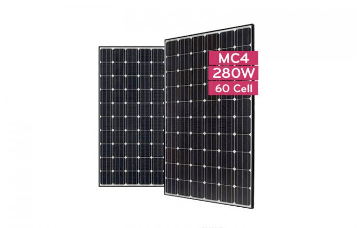 Monocrystalline Solar Panel LG280S1C-B3 - 280 Wp (MonoX AWM)-big