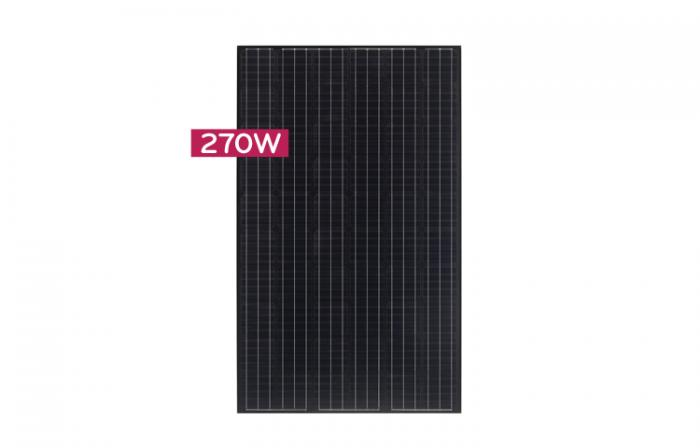 Monocrystalline Solar Panel LG270S1K-B3 - 270 Wp (MonoX/black AWM)-big