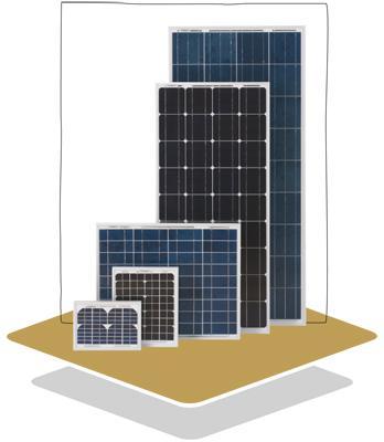 Polycrystalline Solar Panel Luxor Solo Line 140W LX - 140P-big
