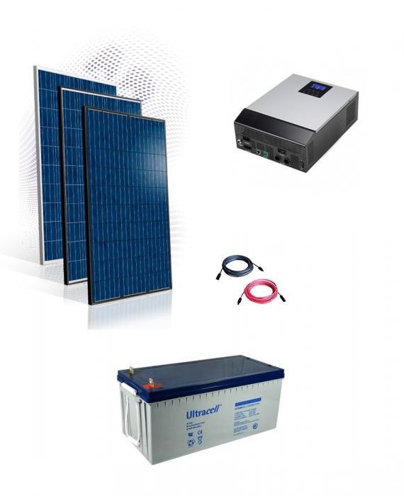 Photovoltaic System Hybrid 8kw-big