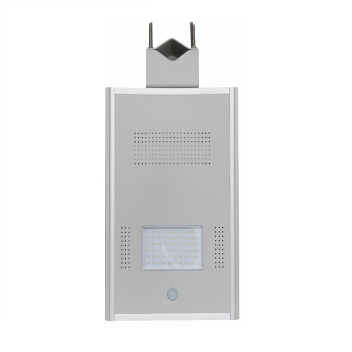 PowerSave street-side street lighting with Sunpower 86Wp photovoltaic panel, included battery and LED 60W-big