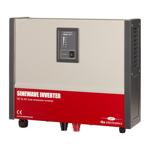 Professional Inverter TBS POWERSINE 3000-12 Pur Sinus DC/AC-big