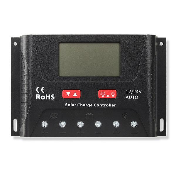 Solar charge controller Powersave PWM 30A 12/24V SR-HP2430-big