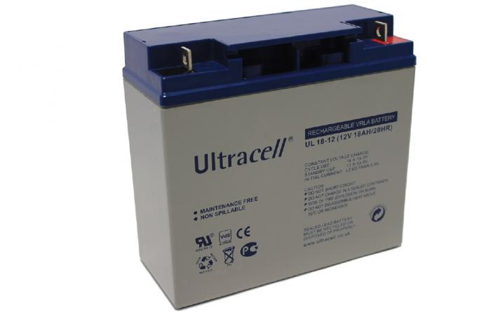 VRLA Battery ULTRACELL 12 V 18 Ah UL18-12-big