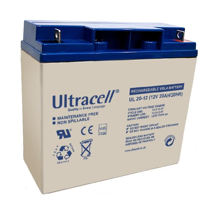 VRLA Battery ULTRACELL 12 V 20 Ah UL20-12-big