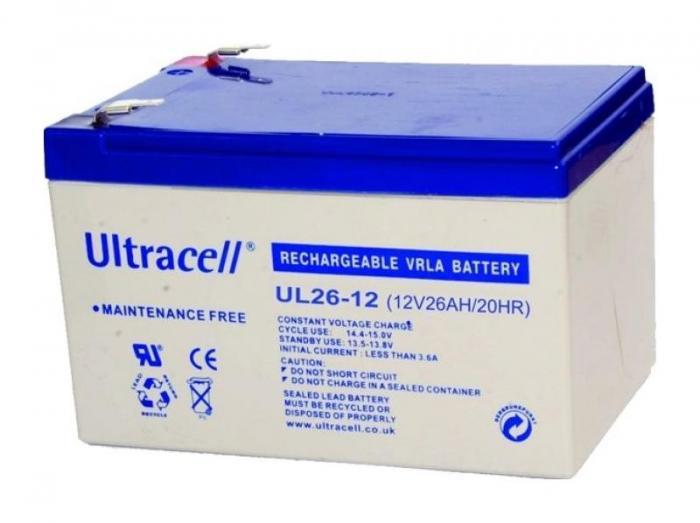VRLA Battery ULTRACELL 12 V 26 Ah UL26-12-big