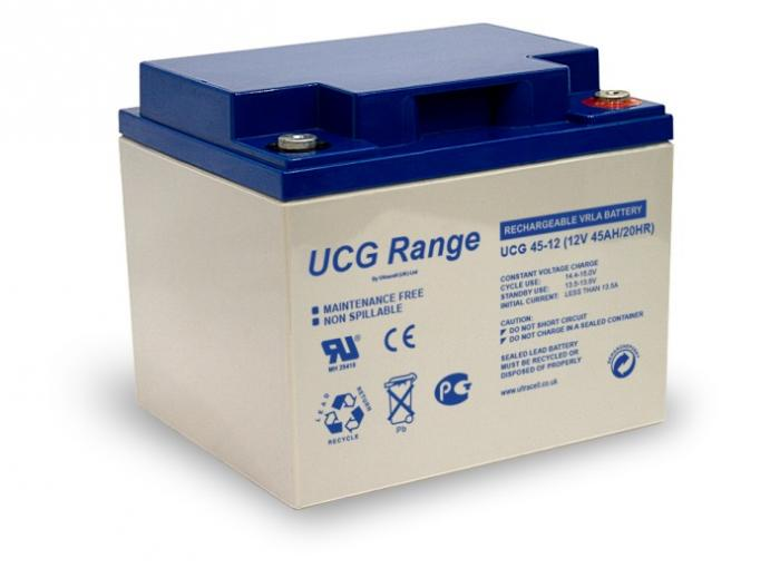 VRLA Battery ULTRACELL 12 V 45 Ah UCG45-12-big