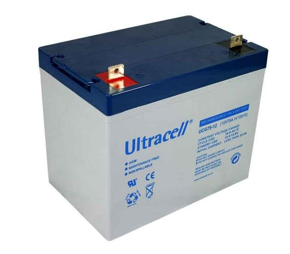VRLA Battery ULTRACELL 12 V 75 Ah UCG75-12-big