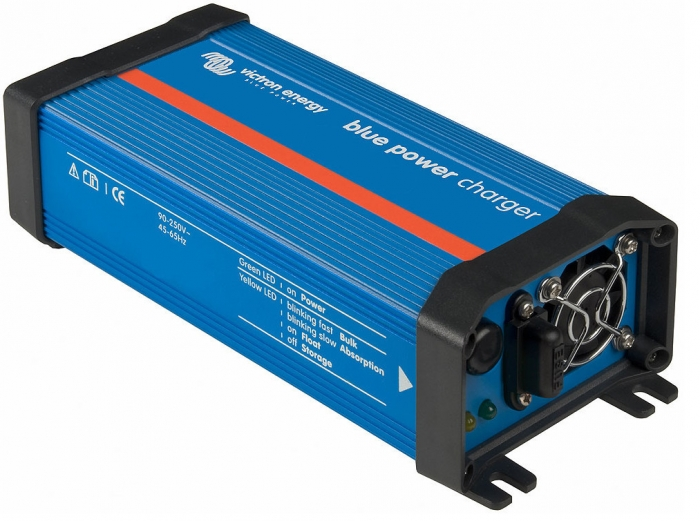 Victron Blue Power 12 Volt 7 Amp Battery Charger - 120VAC-big