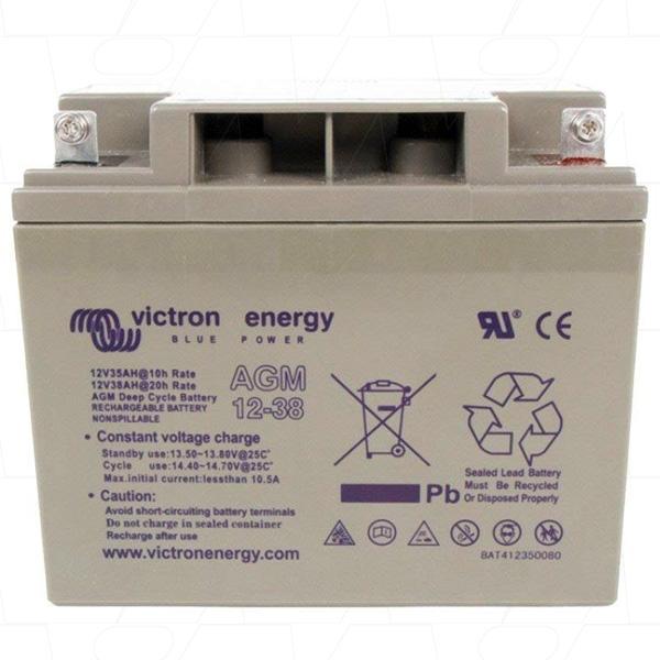 Victron Energy AGM Deep Cycle Battery 12V 38Ah-big
