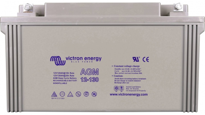 Victron Energy 12V/130Ah Gel Deep Cycle Battery-big