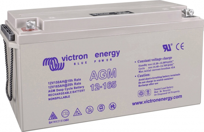 Victron Energy 12V 165Ah Gel Deep Cycle Battery-big