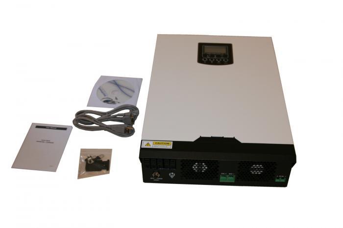Inverter Charger Poweracu Pur Sinus Pwm3000 24 3000va