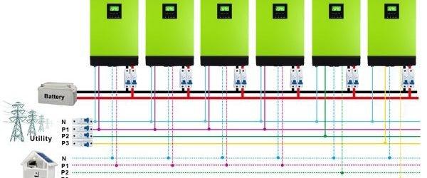 Inverter MPP SOLAR Hybrid V5048 5kva 48V 5000W-big