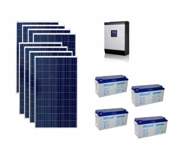 Photovoltaic System Off-grid 2kw Poweracu-big