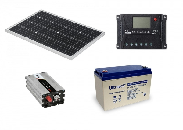 Photovoltaic System Off-grid 0.1kw Poweracu-big