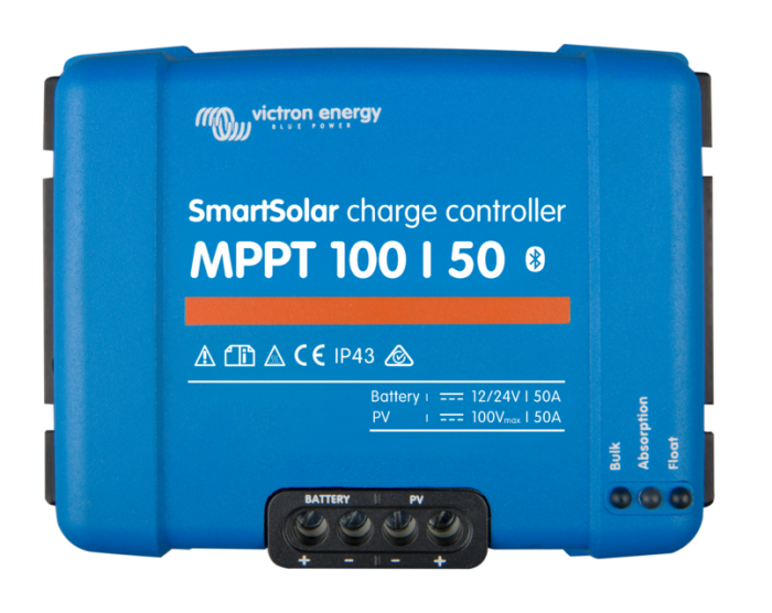 Solar Charge Controller Victron Energy Smart Solar MPPT 100/50 - SCC110050210-big