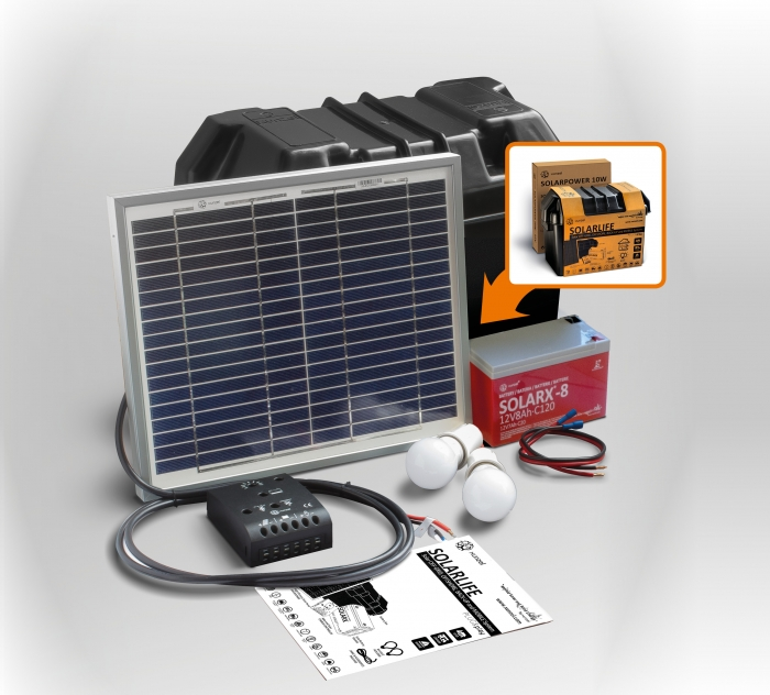 Solar Kit Xunzel SOLARLIFE 10i-big