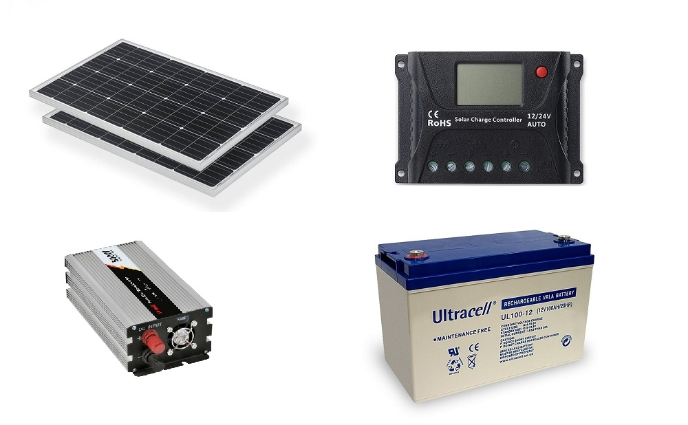 Photovoltaic System Off Grid 0 2kw Poweracu