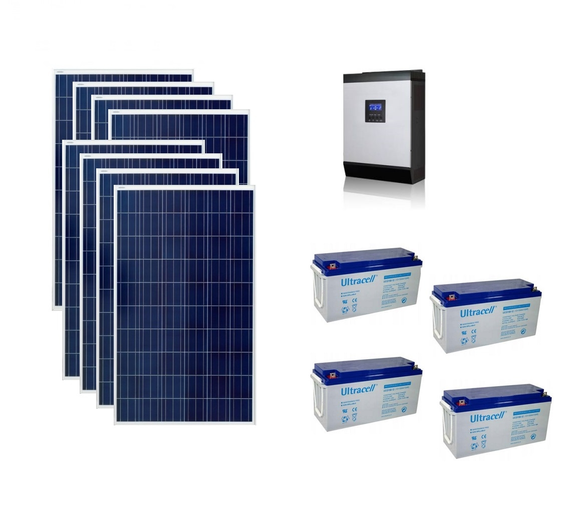 Photovoltaic System Off Grid 2kw Poweracu